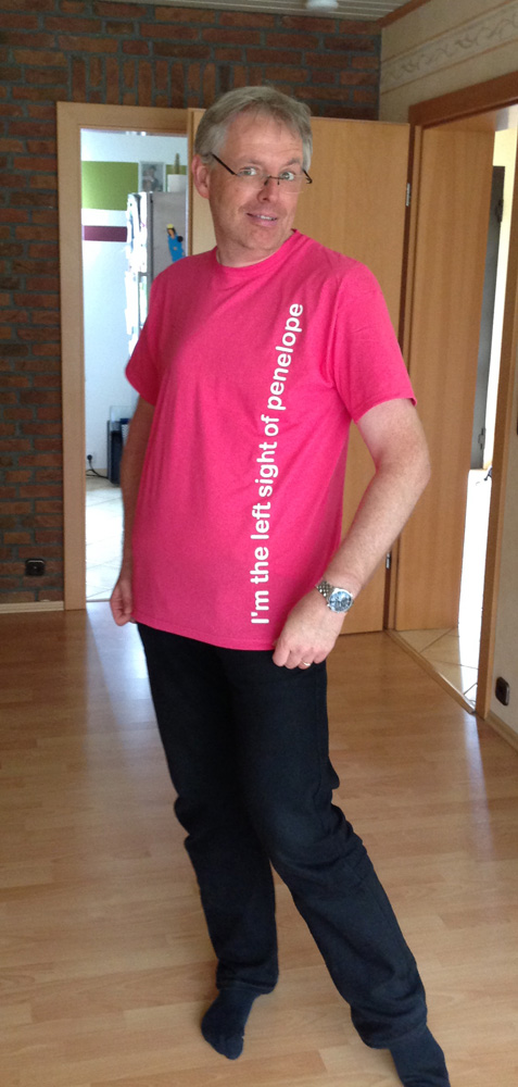 Klaus in shirt