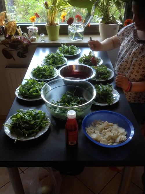 Lara birthday salad