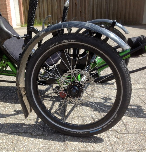 Mudguards and wheels