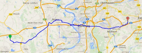 Track to Muelheim