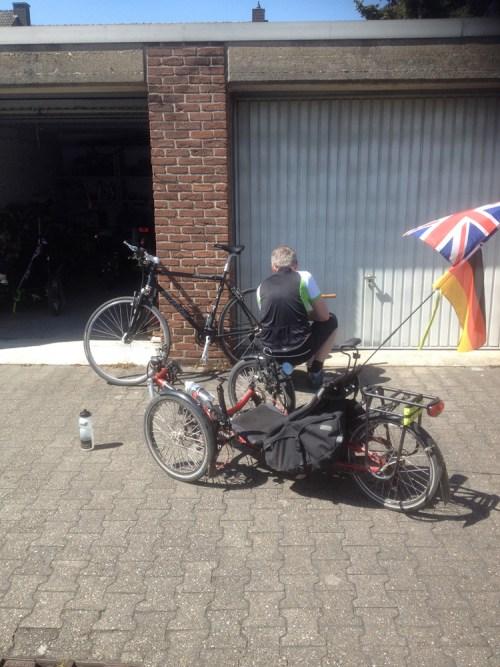 Upright bike