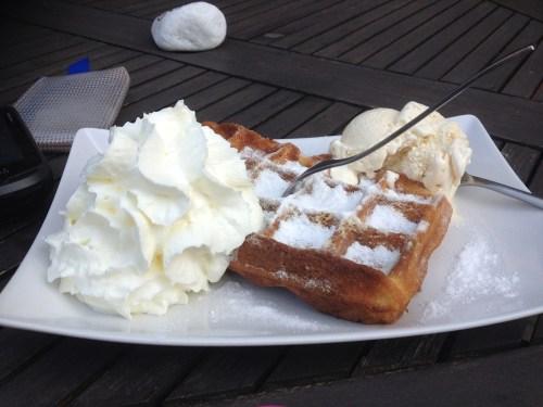 Waffle at Kloster Kamp