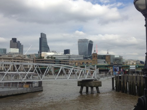 Cheesegrater and Walkie Talkie