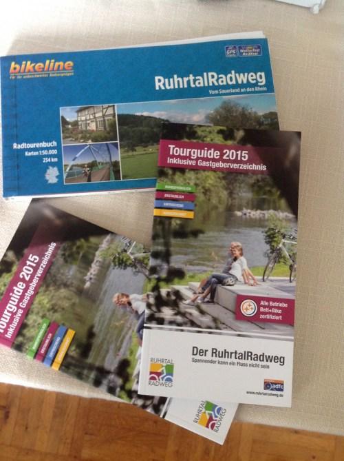 Ruhrtal Radweg planning