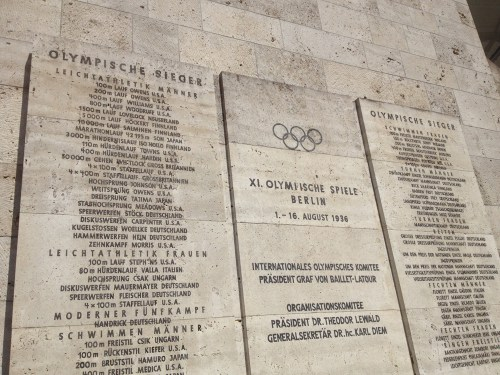 Olympic Victory Plaque