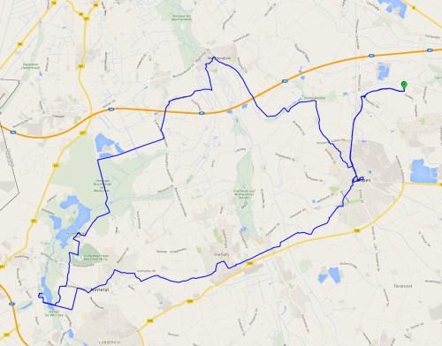ADFC ride track