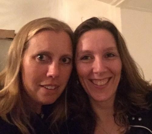 Helen and Marieke