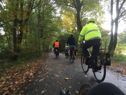 Riding through the autumn