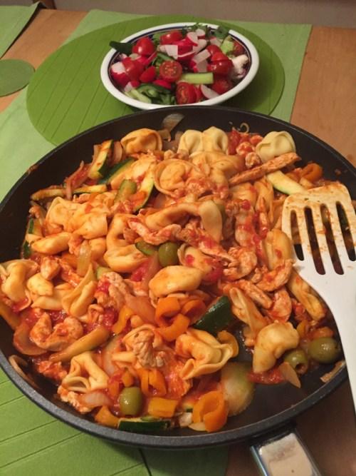 Tortellini and pasta