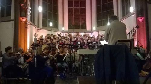 Choir rehearsal