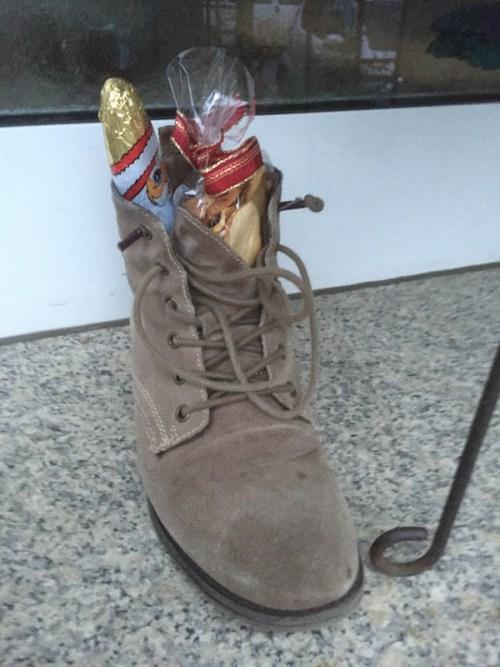 Lara's boot
