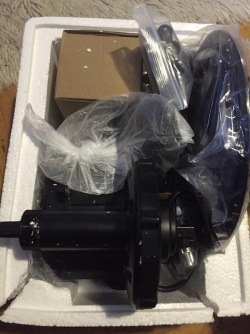 Motor in box