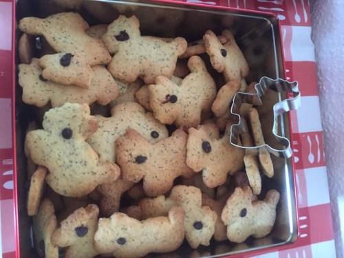Poppy biscuits