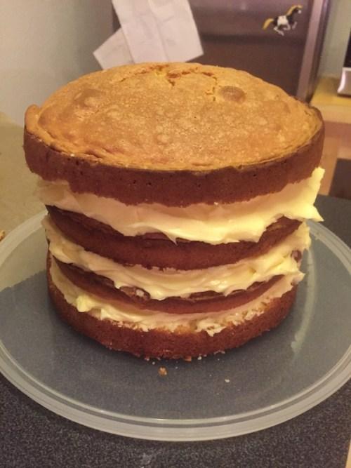 Surprise cake 1