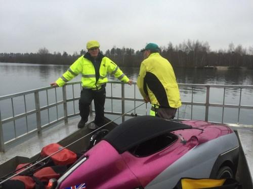 Ferry underway 2