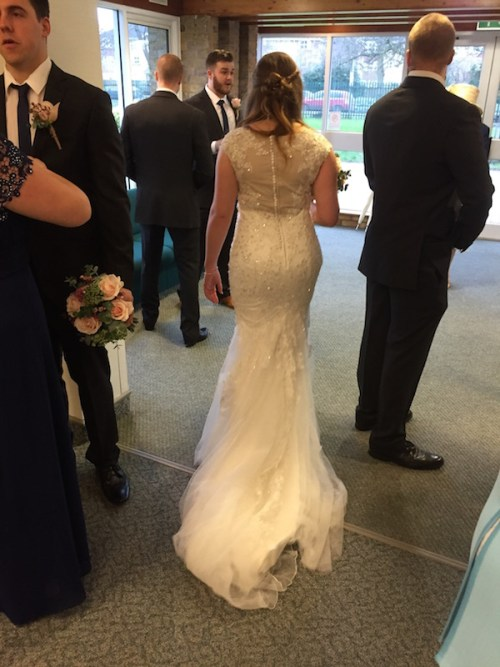 Gwen's dress from behind