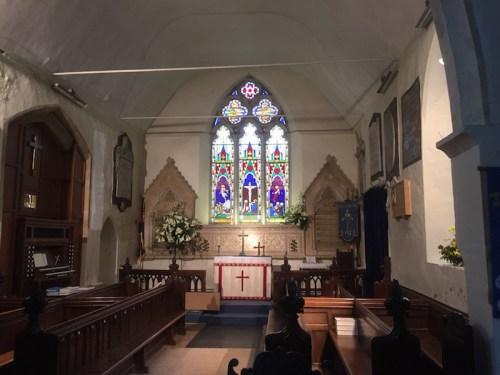 Witnesham Church interior