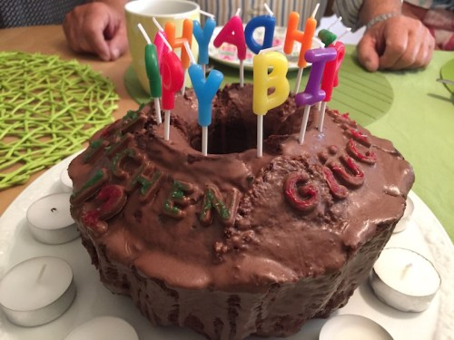 Lara's birthday Sprudel