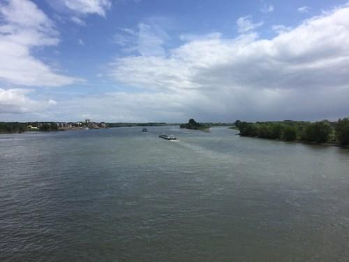 Looking down the Rhein