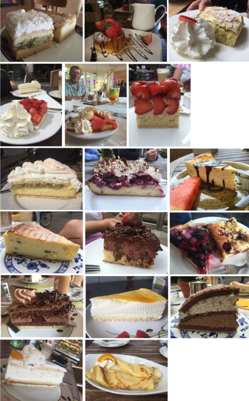 Cakes for June 2016