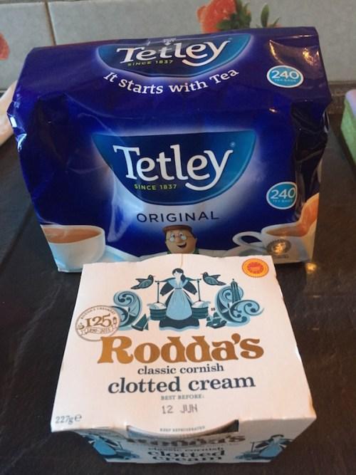 Tea and clotted cream