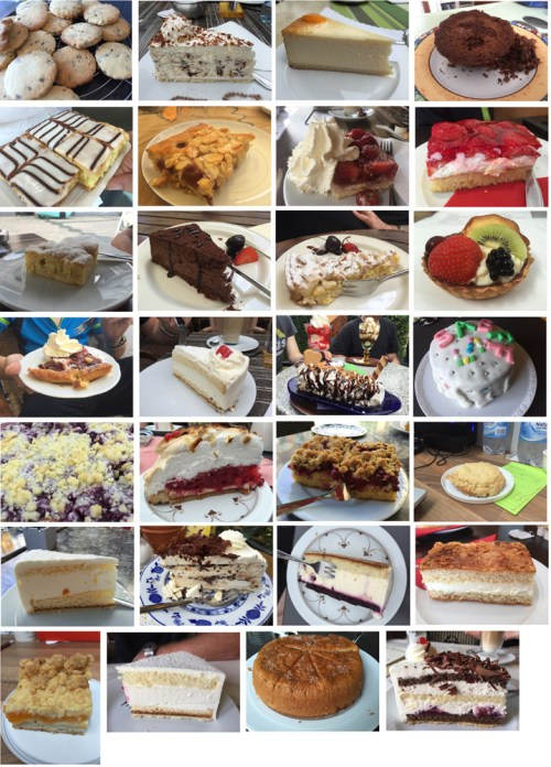 Cakes July 2016