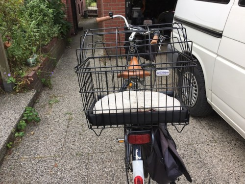New bike basket