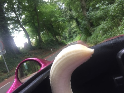 Banana up a hill