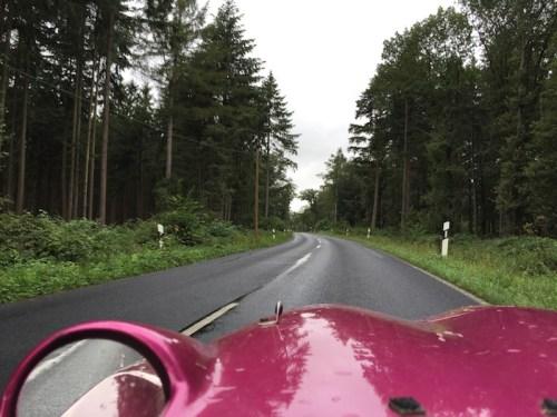 Riding on empty roads