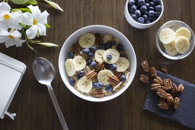 breakfast fruit granola health green longevity life happiness