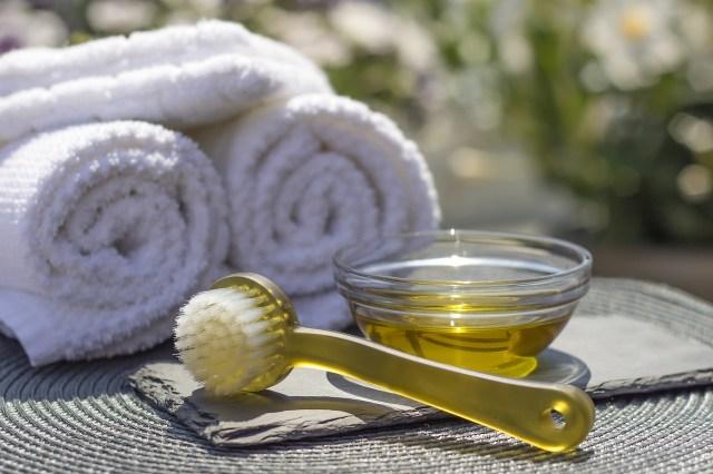 spa massage brush water detox health skin cellulite health body Beauty