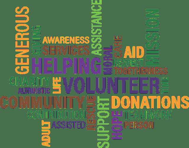 volunteer help community voluntary health life happiness