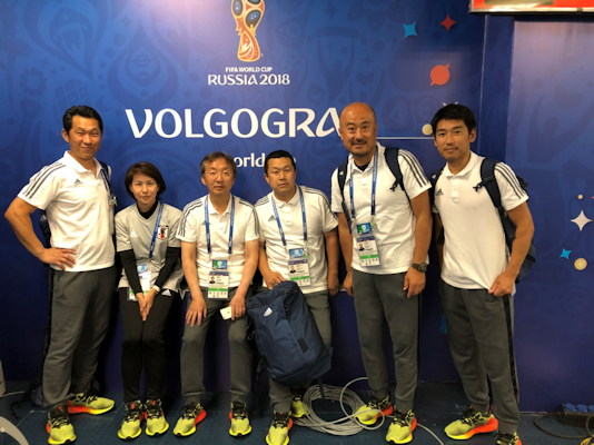 Dohi and her medical team will be shown at the 2018 World Cup in Russia