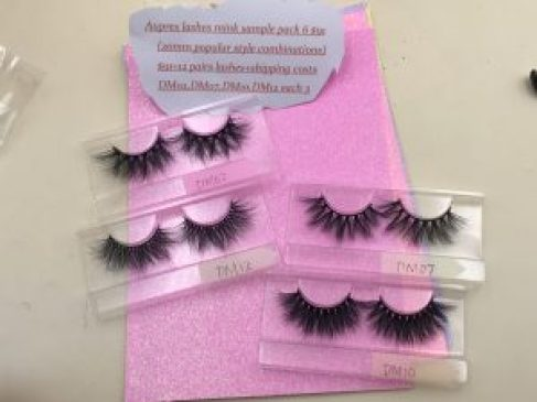 Aupres Lashes Sample pack 6