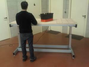 Retrouvez notre gamme d'établis, meubles et postes de travail réglable en hauteur dans l'onglet «Nos solutions».