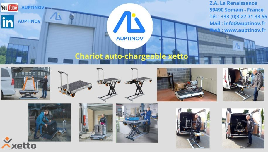 Chariot auto-chargeable xetto