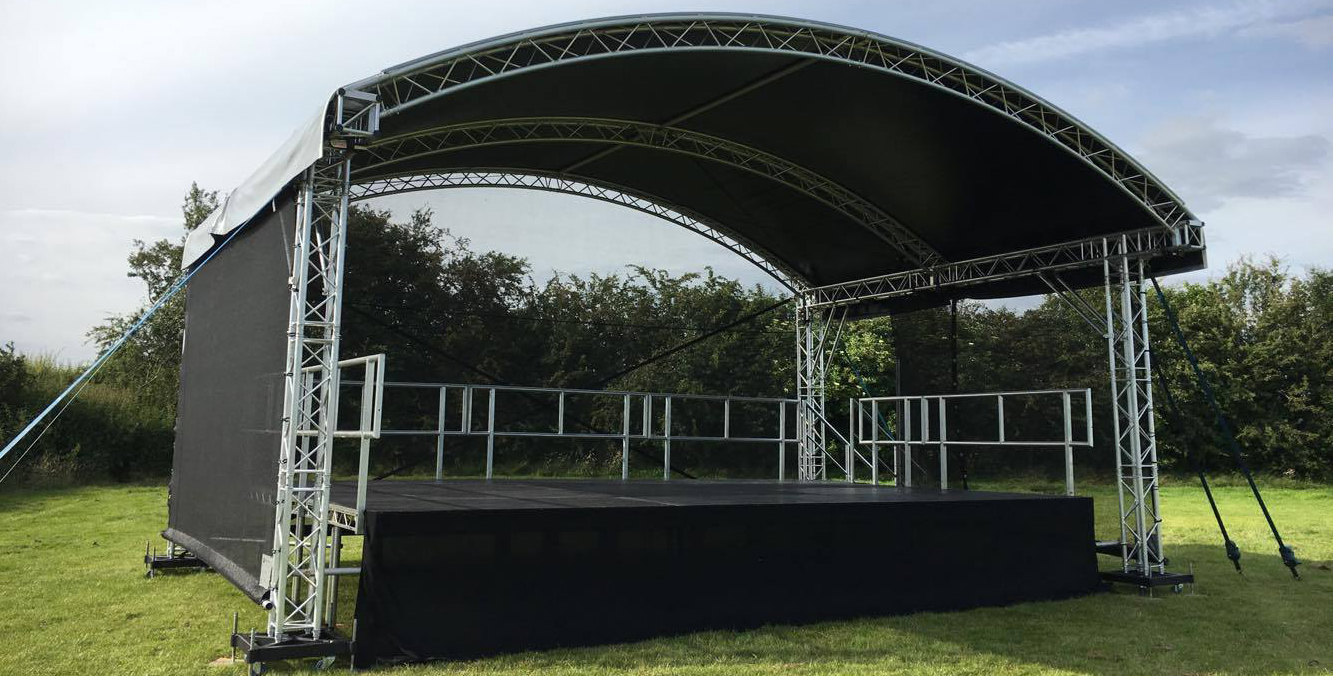 stage hire near