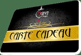 Profitez de la carte cadeau Aura Noire, pour faire plaisir ou pour vous faire plaisir !