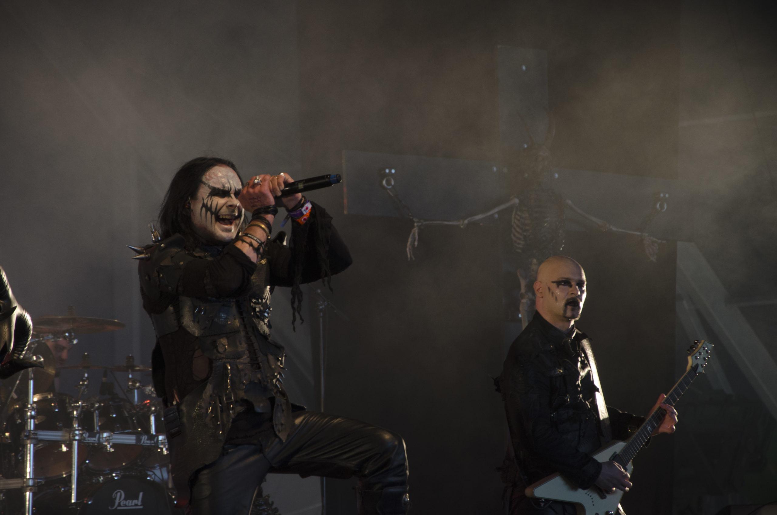 Cradle of filth - hellfest 2015 - Aura Noire