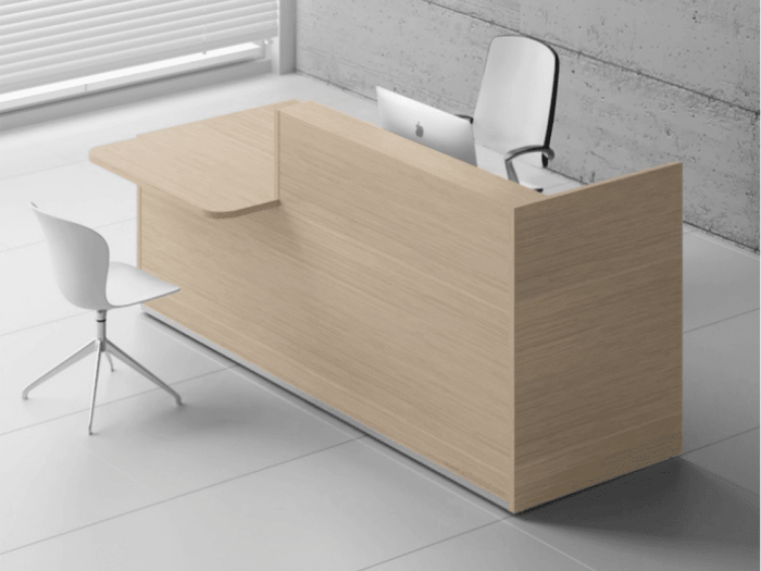 Andreas 2– Reception Desk with DDA Approved Wheelchair Access -