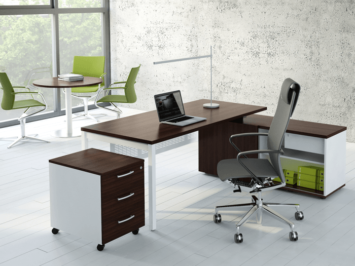 Bloom – Operational Office Desk with Cable Tidy