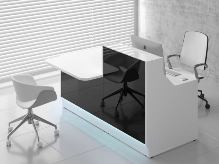 Finley – Reception Desk with DDA Approved Wheelchair Access Counter