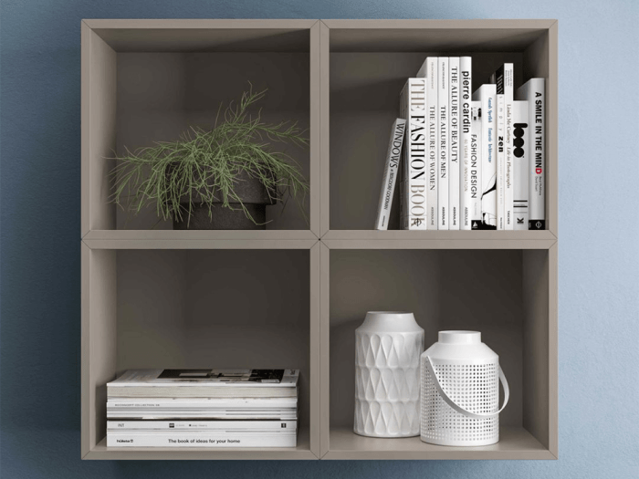 Indigo – Open Woodside Wall Unit