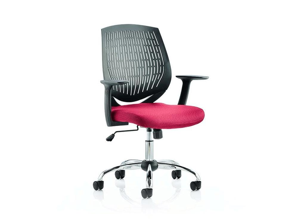 Lori – Flexible Backrest Operator Office Chair in Multicolour