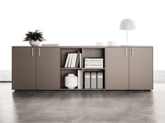 Vida – Wooden Sideboard with Lockable Doors