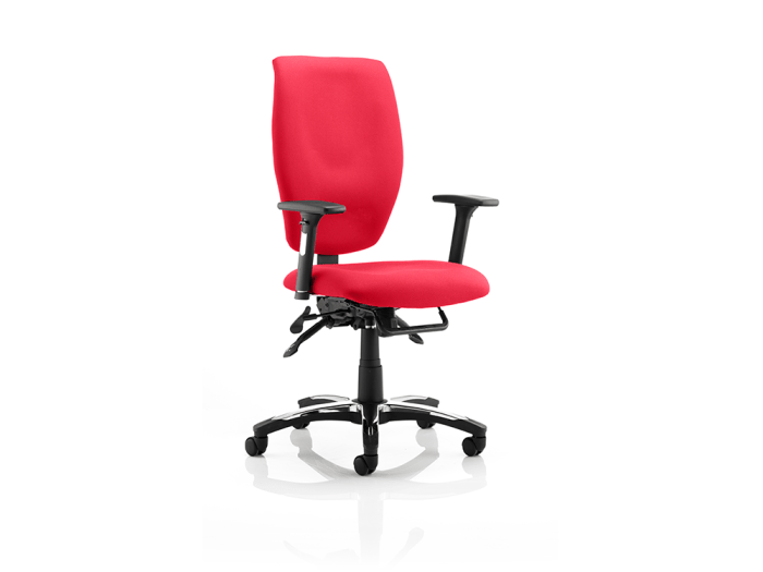 Daphne – Fabric Executive Task Chair in Multicolour with Arms