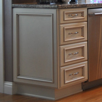 Finished Ends Aura Cabinetry Building Quality Kitchen Cabinets Bathroom Vanities