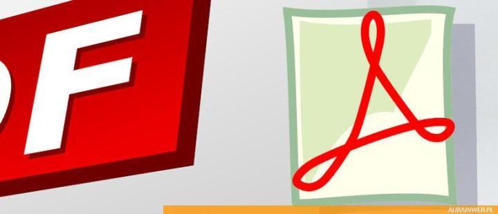 Jak z pliku tekstowego, grafiki stworzyć / zrobić plik PDF?!