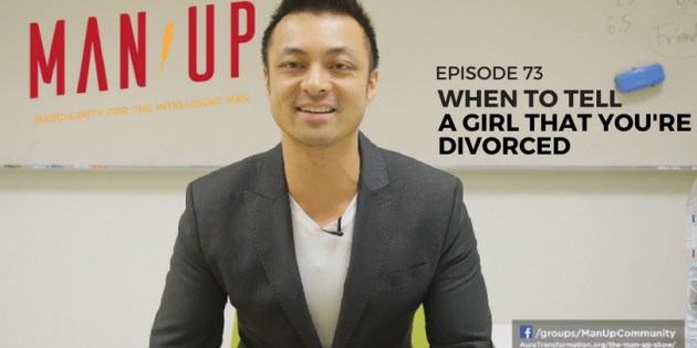 When To Tell A Girl That You're Divorced