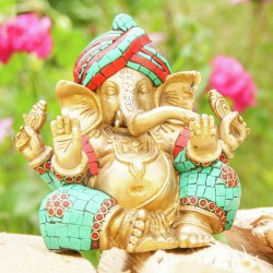 Ganesha sitzend ca. 16 cm